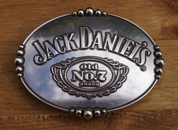 "Belt buckle  "" Jack Daniels Old no 7 brand """