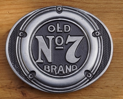 "Buckle  "" Old no 7 brand ""  Jack Daniels"