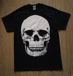 """T-shirt """"  Doodskop """"   Zwart"""