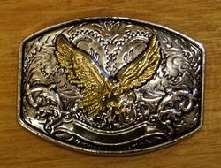 """Concho  """" Vliegende adelaar  """"  Zilver- / goudkleurig"""