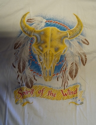 "T-shirt  "" Spirit of the wind ""   Wit"