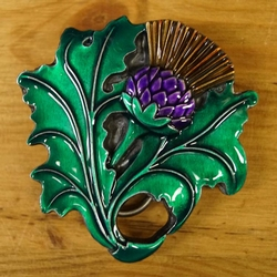 "Celtic buckle  "" Thistle """
