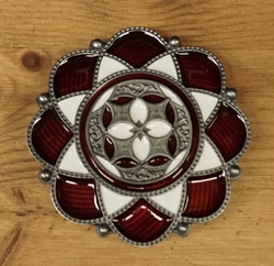 "Celtic buckle  "" Lotusbloem """