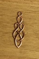 """Concho  """" Celtic teken """" brons kleurig"""