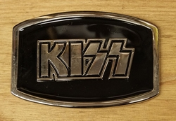 "Muziek band buckle  "" Kiss """
