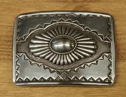 """Sterling zilveren buckle  """" Bloem """""""