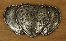 """Sterling zilveren buckle  """" Hartjes """""""