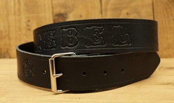 "Buckle riem "" Rebel rider ""  Zwart"