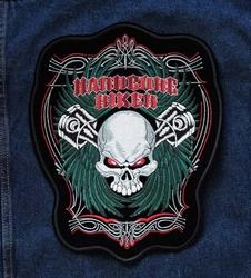 """Applicatie   """" Hardbone biker """""""