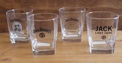 4 stuks Whiskeyglazen