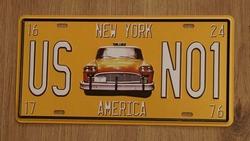 Amerikaanse kentekenplaat