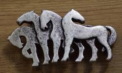 """Western gesp  """" Paarden """""""