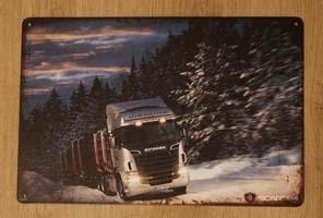 Billboards Vrachtwagen