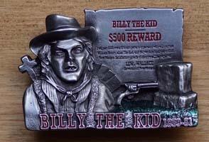 Helden en bandieten western gespen