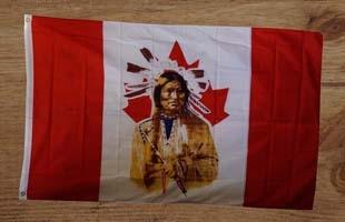 Indianen vlaggen