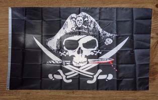 Piraten vlaggen