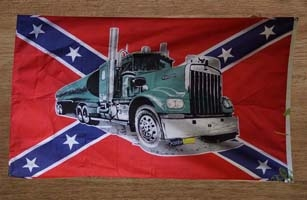 Truckers vlaggen