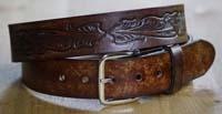 Western riemen lengte 115 cm
